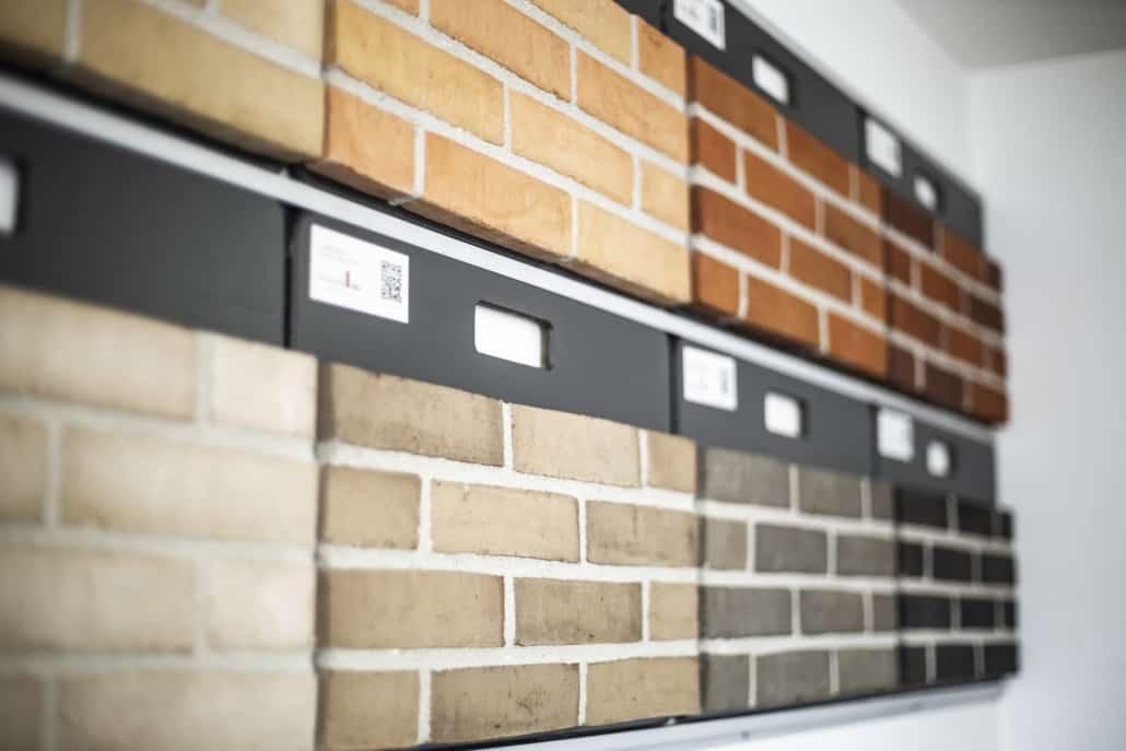 Udstilling af mursten