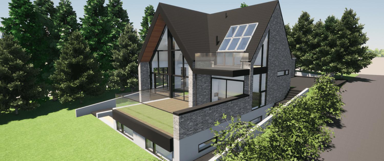 Specialhus tegnet af arkitekt